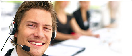A 24-7 customer support service